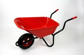Extra Capacity - Equestrian Range Bronco Wheelbarrow in Red