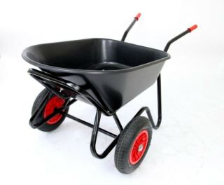 Professional - Equestrian Range Mammoth Duo Wheelbarrow - Black