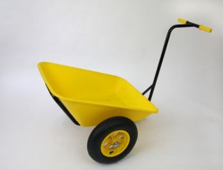 Bullbarrow Bull Cart in Yellow