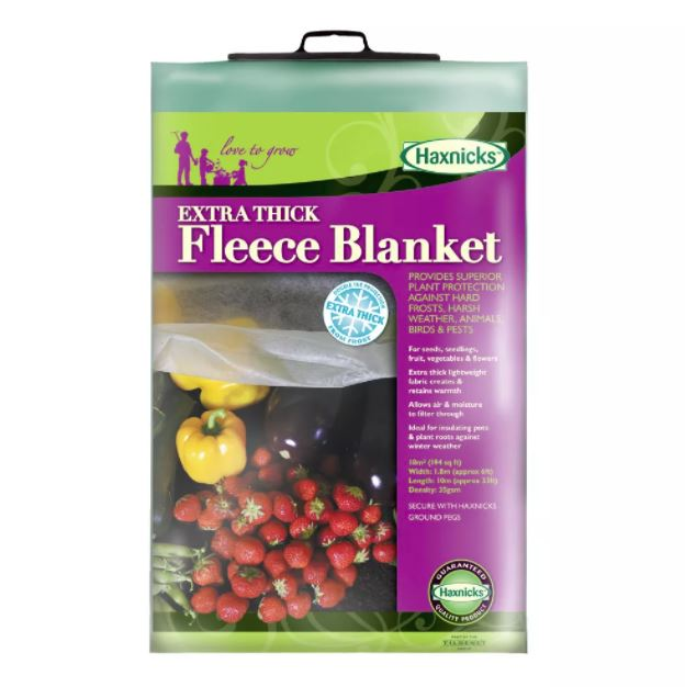 Extra Thick 35Gsm Fleece Blanket Prepack - 1.8m x 10m