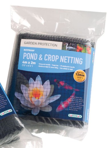 Pond  & Crop Protection Netting - 4m x 2m