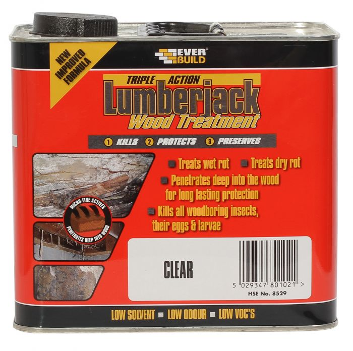 Universal Rot & Woodworm Treatment - 2.5Ltr