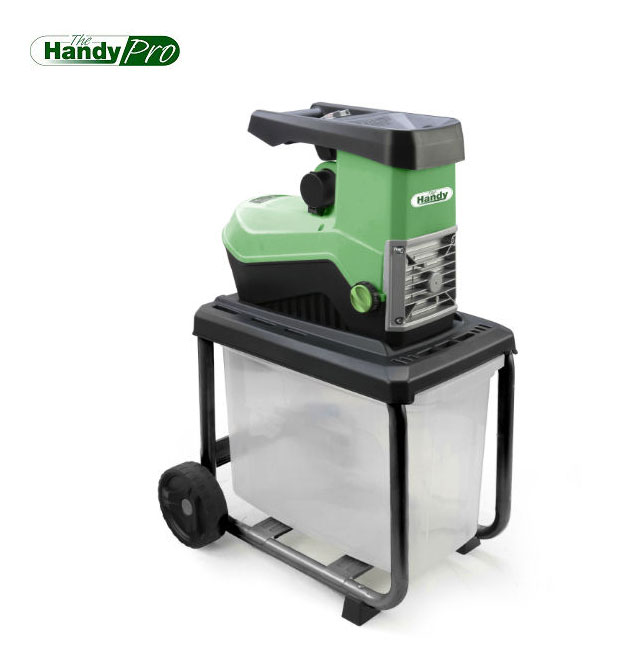 2,500 Watt Silent Shredder with Collecting Box by Handy