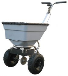 45kg Hand-Push Rotary Salt Spreader by Handy