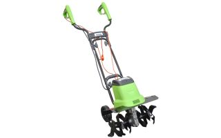 1,400 Watt Electrical Tiller Rotovator by Handy