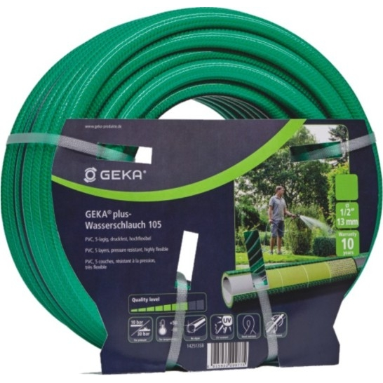 Geka® Plus '105' Water Hose - 25m Coil