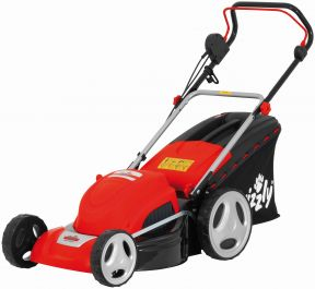 Grizzly 1800W Induction Steel Deck Lawn Mower