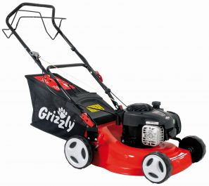 Grizzly 42cm Petrol Lawnmower Briggs & Stratton Engine