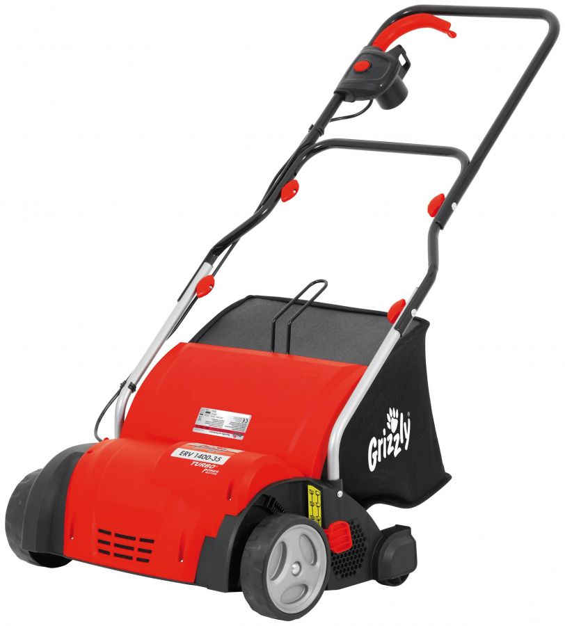 Grizzly 1400W Electric Scarifier & Aerator