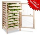 Traditional Apple Storage Rack - 10 Drawers H126cm x W58.5cm x D53cm by Lacewing™