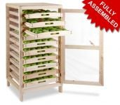 Traditional Apple Storage Rack - 10 Drawers H126cm x W58.5cm x D53cm by Lacewing�