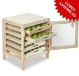 Preassembled Traditional Apple Storage Rack - 5 Drawers H73cm x W55cm x D59cm by Lacewing�