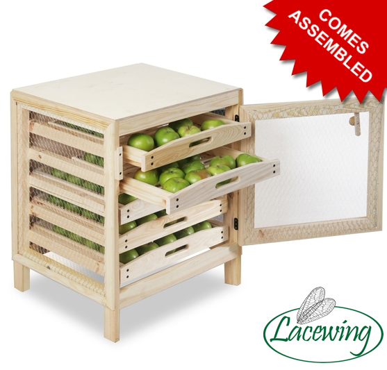 Traditional Apple Storage Rack - 5 Drawers H73cm x W55cm x D59cm by Lacewing™
