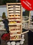 Traditional Apple Storage Rack - 13 Drawers H156cm x W55cm x D59cm by Lacewing™