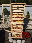Traditional Apple Storage Rack - 13 Drawers H156cm x W55cm x D59cm by Lacewing�