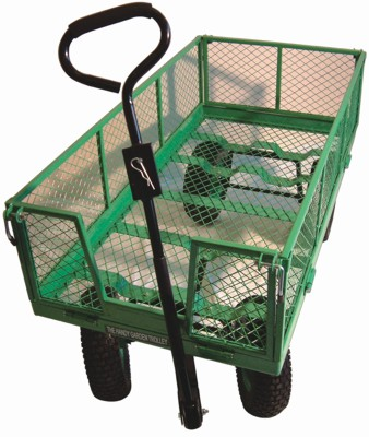 Handy 2' x 4' Large Garden Trolley / Cart