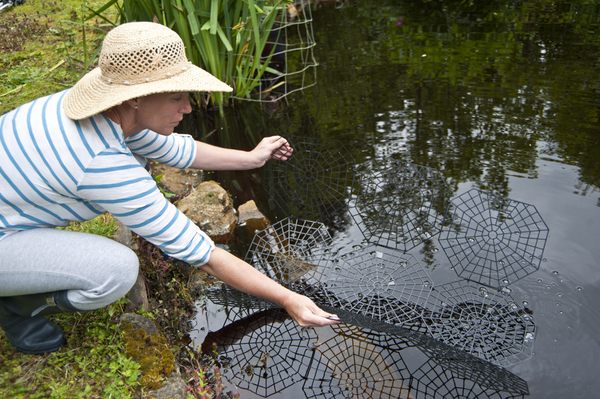Floating pond protection net cover guard for Garden pond guards