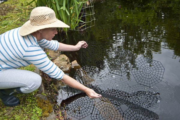 Floating pond protection net cover guard for Fish pond protection