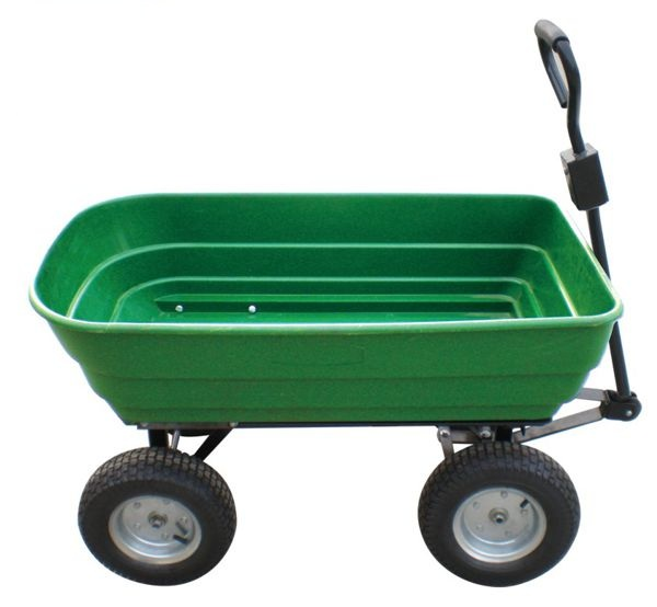 The Handy Poly Dump Cart