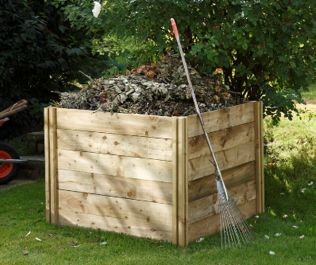 Slot Down Compost Bin - 650L