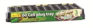 60 Cell Plug Tray - Pack of 3