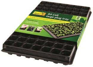 84 Cell Large Plug Tray - Pack of 2