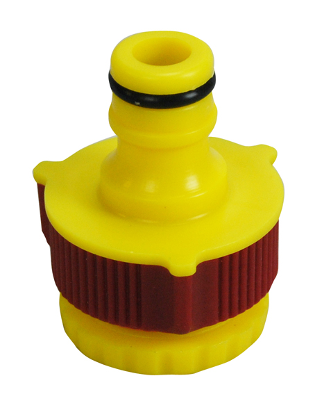 "Premium Soft Grip 3/4"" and 1/2"" Threaded Garden Tap Connector"