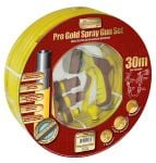 30m Gold Spray Gun Set