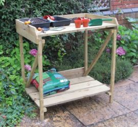 Timber Potting Table - 3' x 3'