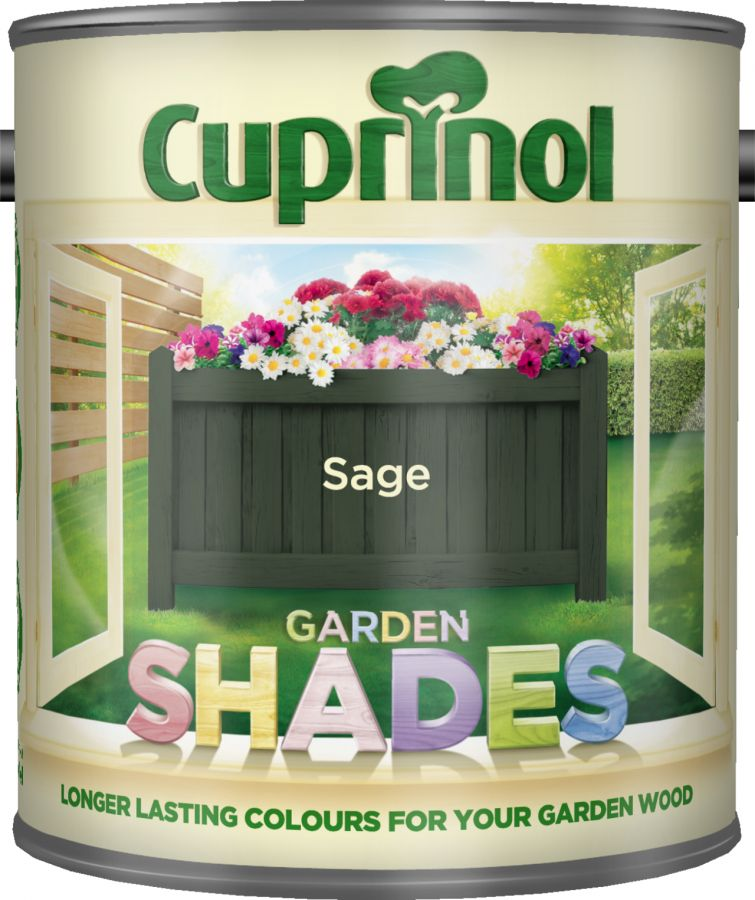 Cuprinol Garden Shades Paint Sage 1L
