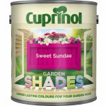 Cuprinol Garden Shades Paint Sweet Sundae 1L