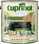 Cuprinol Garden Shades Paint Black Ash 2.5L