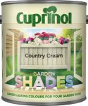 Cuprinol Garden Shades Paint Country Cream 2.5L