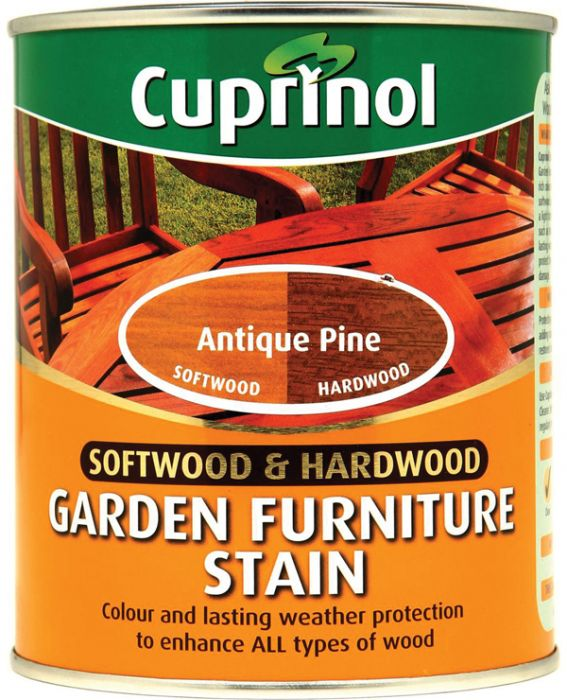 Cuprinol Garden Furniture Stain Antique Pine 750Ml