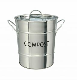 Eddington Stainless Steel Compost Pail