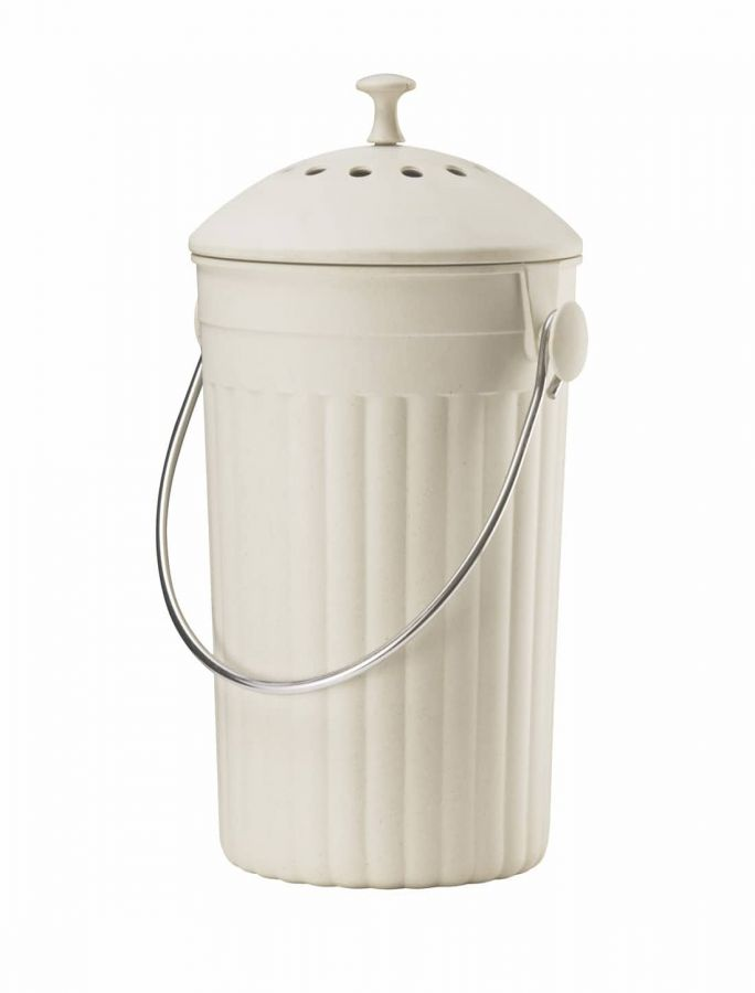 Eddington Eco-Compost Pail - Cream