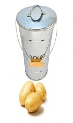 Eddington Stainless Steel Potato Pail
