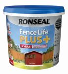 Ronseal Fence Life Plus 5ltr - Red Cedar