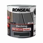 Ronseal Decking Rescue Paint 2.5ltrs - Charcoal