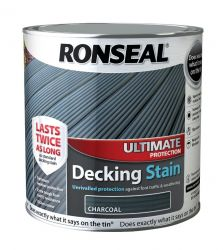 Ronseal Ultimate Decking Stain 2ltr - Charcoal