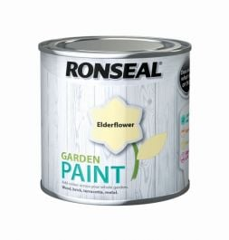 Ronseal Garden Paint 250ml - Elderflower