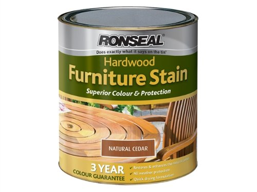 Ronseal Hardwood Furniture Stain - Natural Cedar