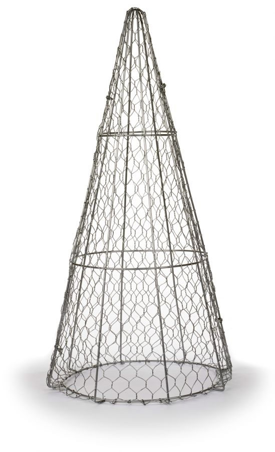 60cm Cone Topiary Wire Frame by Kent & Stowe