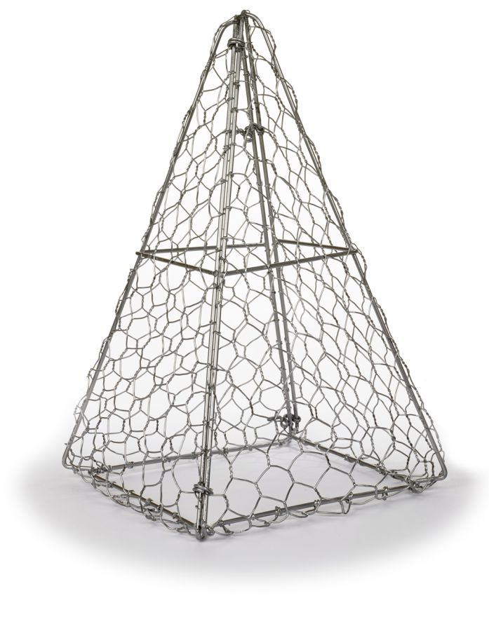 31cm Pyramid Topiary Wire Frame by Kent & Stowe