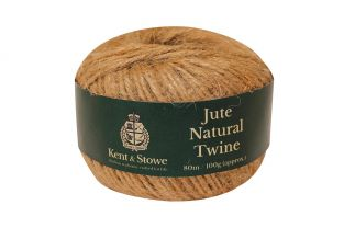 80m/100gm Jute Twine Natural by Kent & Stowe