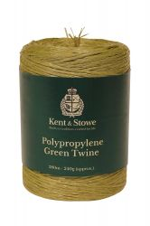 280m/240gm Poly Green Twine by Kent & Stowe