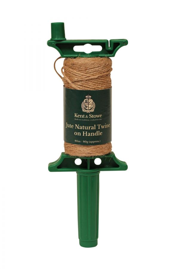 80m/80gm Twine on Handle Natural by Kent & Stowe