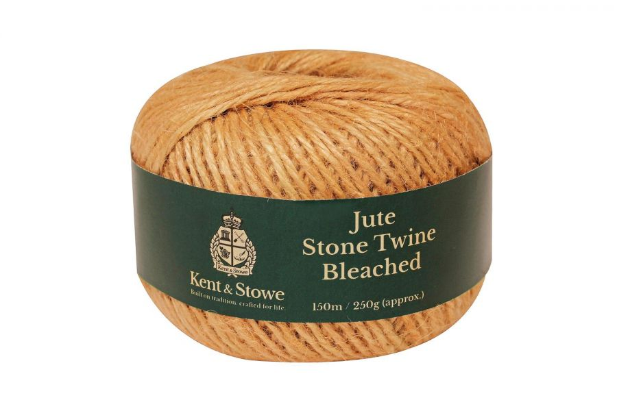 150m/250gm Jute Twine Bleached Stone by Kent & Stowe