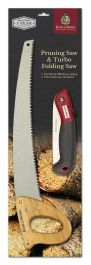 Garden Pruning Saw & Turbo Saw by Kent & Stowe