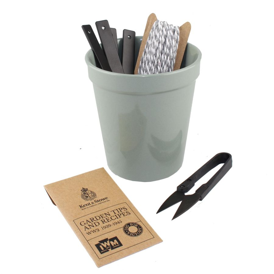 10cm Dig For Victory Gardeners Gift Pot by Kent & Stowe